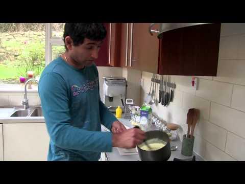 Brekkie heroes - Polenta & Apple Porridge  with a Dried Fruit Compote