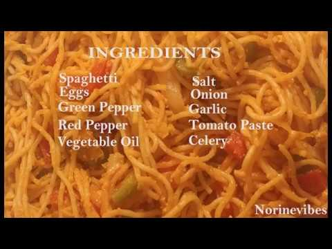 How to Cook Spaghetti with Eggs