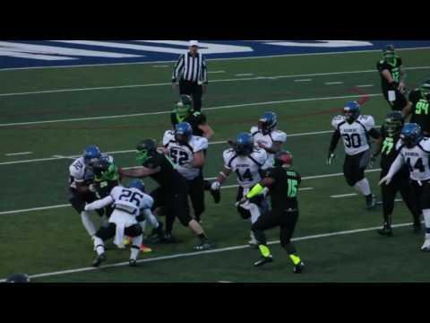 Semi-Pro Football  Venom vs Raiders 2017