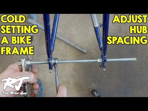 Cold Setting A Bike Frame (126mm to 130mm Hub Spacing)