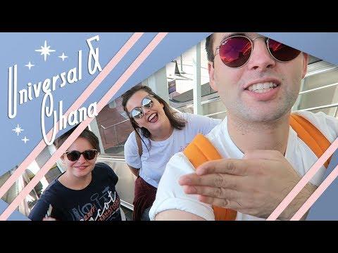 Universal & Ohana | Polynesian Village Resort | Florida Vlog | December 2017 | Adam Hattan