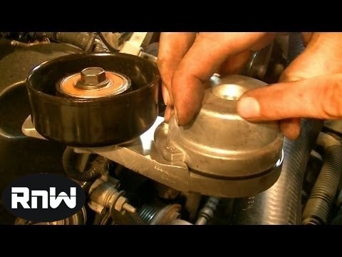 How to Remove and Replace a Serpentine Belt Tensioner - 2003 Ford Mustang GT 4.6L Engine