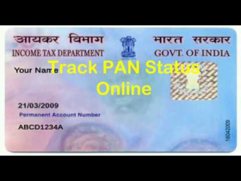 how to check pan card status by name|Track your PAN Application Status|How to Check PAN Card Status?