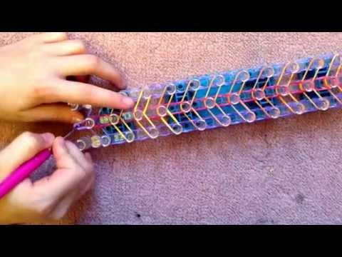 Rainbow loom: How to make the X-Twister Bracelet !