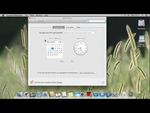 How to Change Time Display on Mac