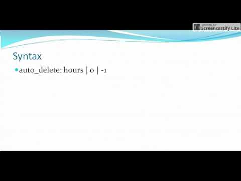 Autosys tutorials: auto_delete attribute