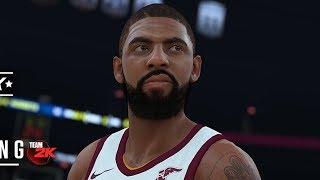 NBA 2K18 Kyrie Irving Screenshot and Rating!