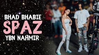 "BHAD BHABIE ""Spaz"" ft. YBN Nahmir Lyric Video   Danielle Bregoli"