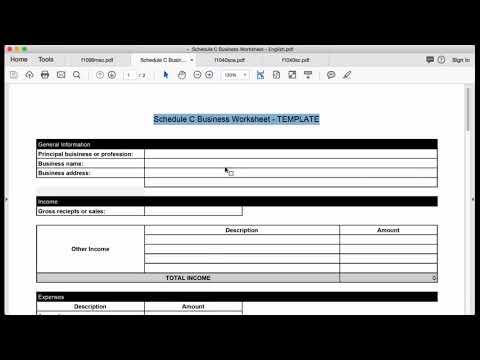 Schedule C & CEZ