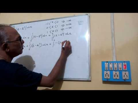INTEGRATION OF A MODULUS FUNCTION