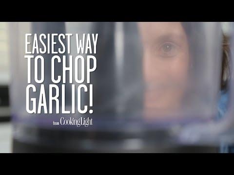 Easiest Way to Chop Garlic! | Cooking Light