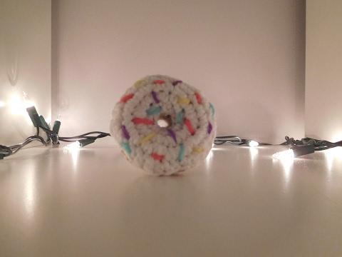 Mini Crochet Doughnut/Keychain Tutorial
