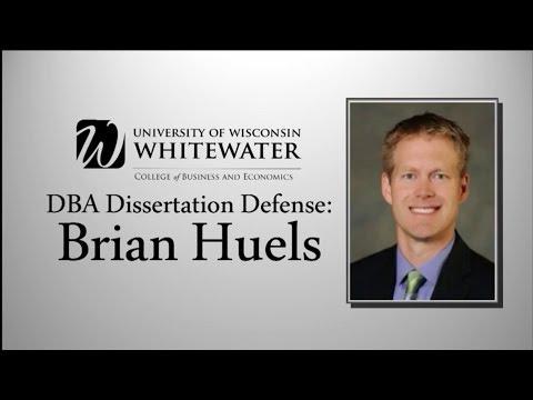 Brian Huels DBA Dissertation Defense