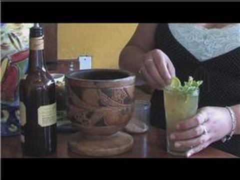 Mojito Recipes : How to Make a Cane Mojito