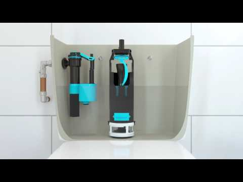 How to Install or Replace a Side Entry Float Valve in a Toilet Cistern