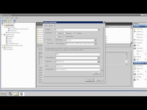 Filtering Active Directory Log Files & Creating Custom Views