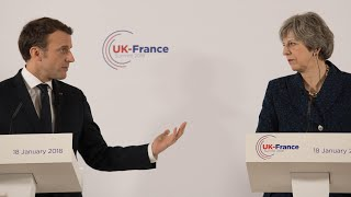 Tough talking Macron says UK must pay for post-Brexit City deal