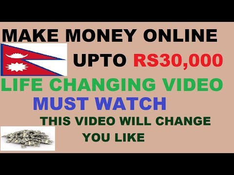 ONLINE JOB IN NEPAL RS 30,000 SALARY  - BEST WAY TO MAKE MONEY ONLINE IN NEPAL - MUST WATCH