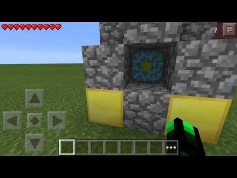 COMO hace el portal la nether en minecraft PE 0.11.1 sin mod