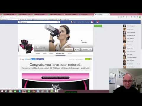 Facebook Contest Updated Video Example