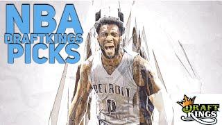 3/19/18 NBA DRAFTKINGS PICKS