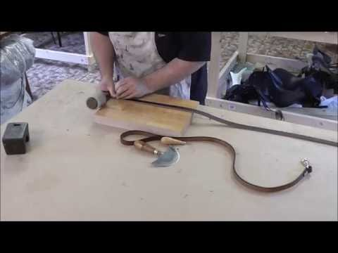 Make a simple leather dog lead