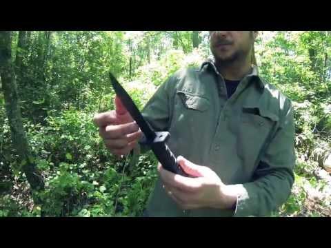 Black Scout Reviews - Ontario's ASEK Knife