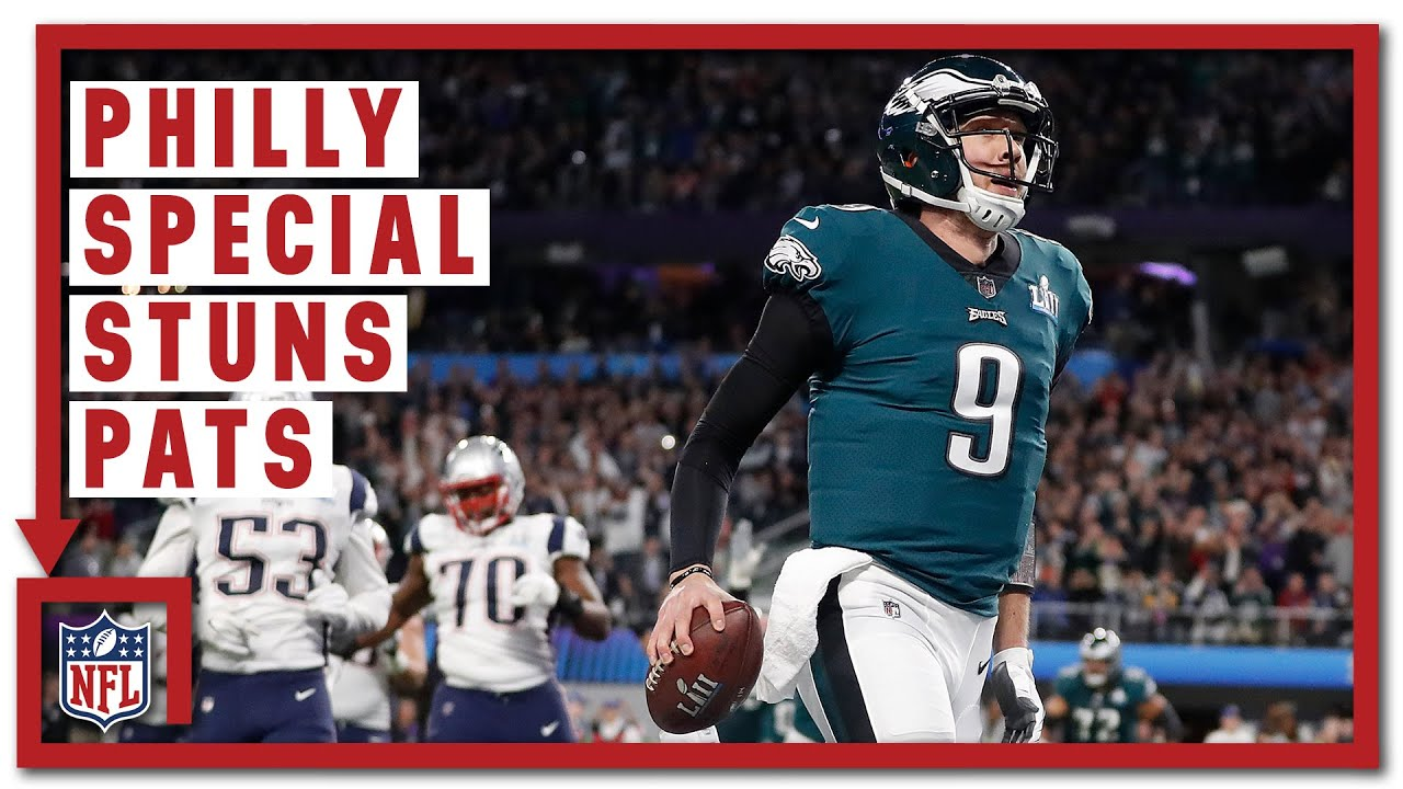 """The """"Philly Special"""" Stuns Belichick (Super Bowl LII)   Eagles vs. Patriots   NFL Turning Point"""
