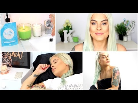 HAIR CARE ROUTINE - TIPS TO HEALTHY PLATINUM BLONDE HAIR