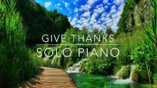 Give Thanks Instrumental