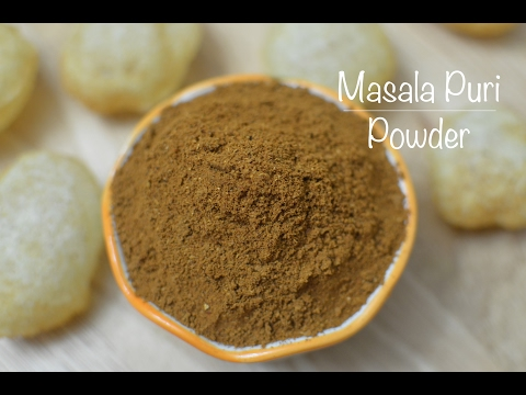 How To Make Masala Puri Powder - Megha's Cooking Channel - Episode 116