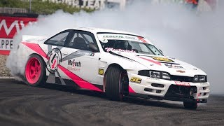 King of Italy Drift SuperCup 2018 - Castelletto - Turbo BMW M3, LS3 Nissan S14 & More!