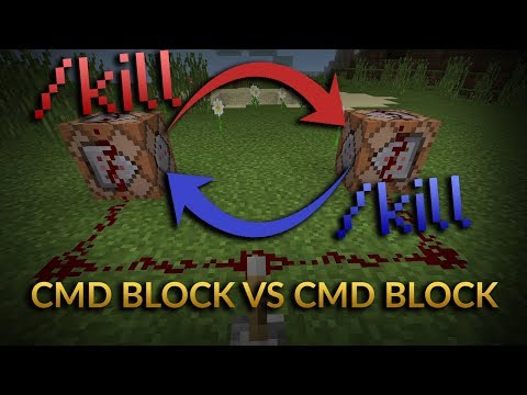 What happens if 2 command blocks try to kill each other at the same time? [Minecraft Experiment]