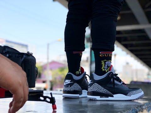 Jordan 3: Black Cement