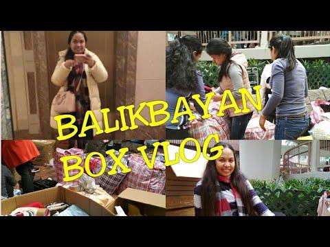 OFW BALIKBAYAN BOX/HELPING MY FRIEND/mhaivlogs
