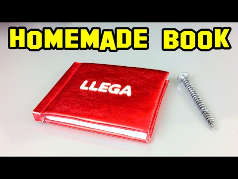 Crafts | How To Make A Book, Handcrafted, Unique And Homemade