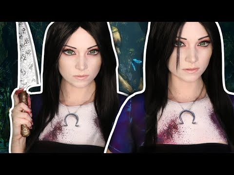 MY CLOTHES ARE MAKEUP! | Alice Madness Returns Makeup Tutorial