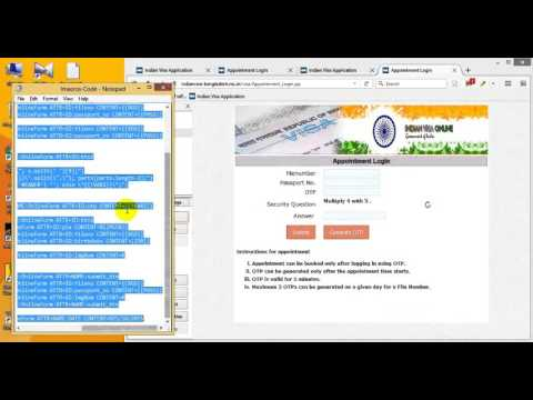 How to confirm Indian visa appointment date (Full process live)