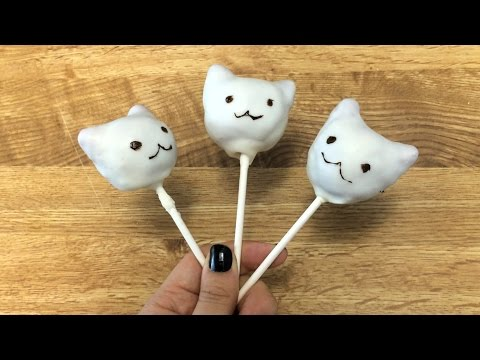 How to Make Cat Cake Pops