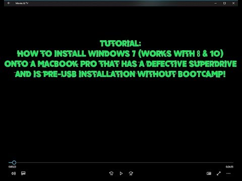 how to install windows 10 on macbook pro without usb
