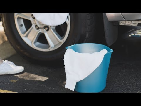 Re-purpose Old Bathrobe into a Car Wash Mitt