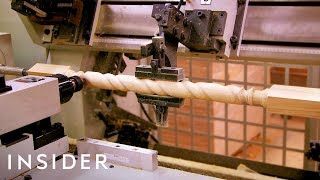 How Wood Stair Balusters Are Made | The Making Of