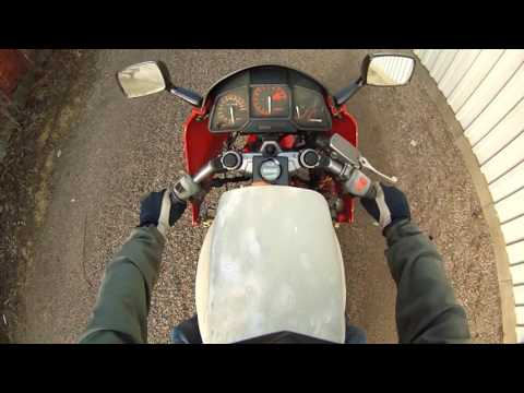 Electric Motorcycle Conversion First Test Drive