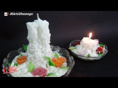 DIY How to make Whipped Wax Candle | Gift Idea | JK Arts 725