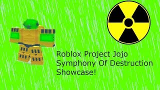 Spice Girl Showcase - Roblox Project Jojo