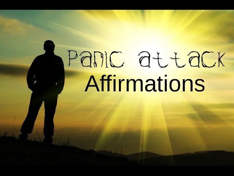 Spoken Affirmations For Panic Attack, Anxiety and to calm down. (Using the law of attraction)