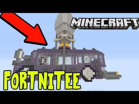 Minecraft XBOX/ps3/pe Fortnite Modded Map + Download