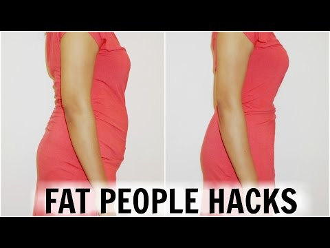 How To Look Slimmer | Fat People Hacks | ShrutiArjunAnand