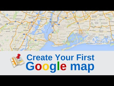 Create Your First Google Map