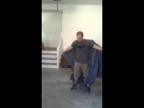 Batman The Dark Knight Cape test